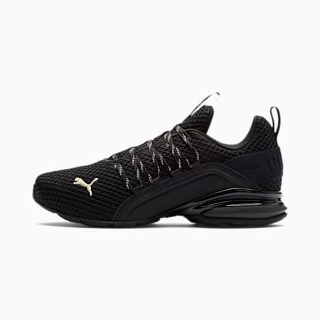 Axelion Spark Men's Running Shoes, Puma Black-Puma Team Gold, small