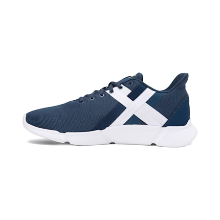 Momentum XT  Men's Training  Shoes, Denim-Yellow Alert-White, small-IND