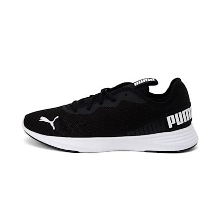 Hustle XT Running Shoes, Puma Black-Puma White, small-IND