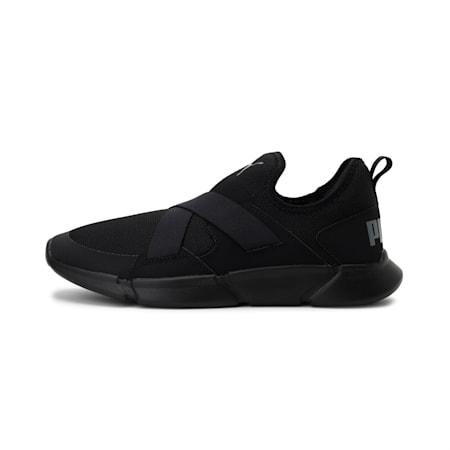 Strider v1 Slip-On Walking Shoes, Puma Black-Puma Black, small-IND