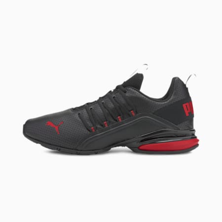 Axelion Perf Men's Training Shoes, Puma Black-High Risk Red, small