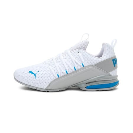 Axelion Perf Men's Training Shoes, Puma White-Nrgy Blue, small-IND