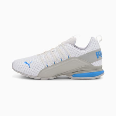 Axelion Perf Men's Training Shoes, Puma White-Nrgy Blue, small