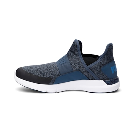 NRGY Dynamo Slip-On Running Shoes, Dark Denim-Palace Blue, small-IND
