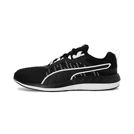 Flare 2 Dash Running Shoe, Puma Black-Puma White, small-IND