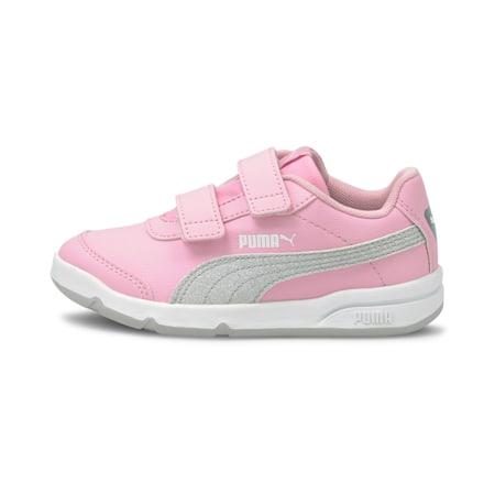 StepFleex2 SLVE Glitz Girls' Shoes, Pale Pink-Puma Silver-Puma White-Gray Violet, small-IND