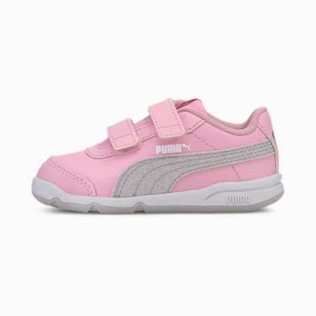 Zapatillas para bebés chica Stepfleex 2 SL VE Glitz, PPink-Silver-Wht-Gray Violet, small