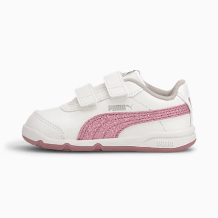 Zapatillas para bebés chica Stepfleex 2 SL VE Glitz, White-Foxglove-Gray-Silver, small
