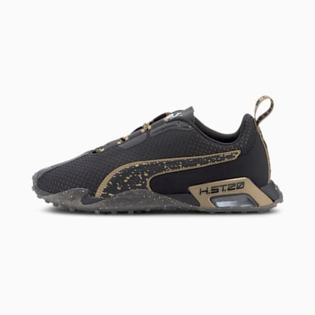 H.ST.20 Metal Women's Running Shoes, Puma Black-Metallic Gold, small-SEA