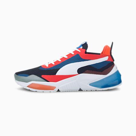LQDCELL Optic XI Running Shoes, Puma White-Pal Blue-L Blast, small-IND