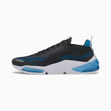 LQDCELL Optic XI Running Shoes, Nrgy Blue-Puma Black- Silver, small-IND