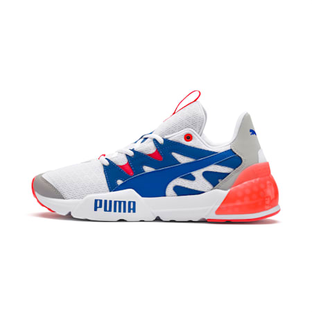 CELL Pharos Men's Training Shoes, Puma White-Palace Blue, small