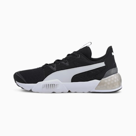Pharos CELL Men's Running Shoes, Black-Puma White-Puma Silver, small-IND