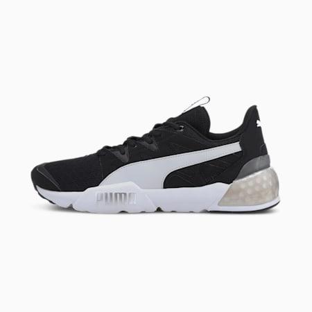 Chaussures d'entraînement CELL Pharos, homme, Noir-blanc Puma-argent Puma, petit