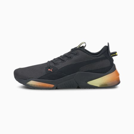 LQDCELL Optic Dim Running Shoes, Puma Black-Meadowlark, small