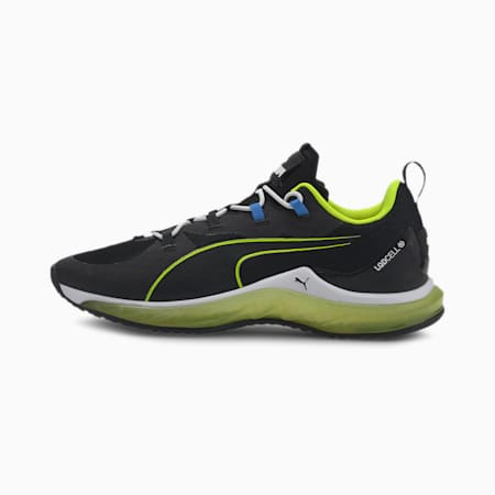 LQDCELL Hydra Jr Shoes, Puma Black-Yellow Alert, small-IND