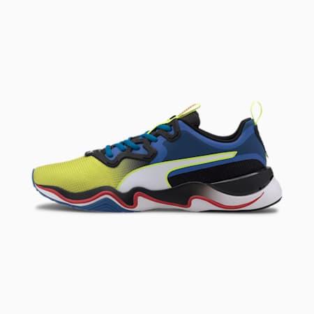 Zone XT Multi Men's Training Shoes, Yellow Alert-Palace Blue, small
