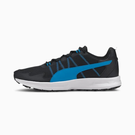 Escalate Running Shoes, Puma Black-Nrgy Blue, small-IND