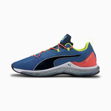 LQDCELL Hydra Iridescent Men's Training Shoes, Palace Blue-Lava-Yellow, small