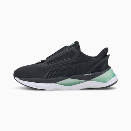 Damskie buty treningowe LQDCELL Shatter XT NC, Puma Black-Green Glimmer, small