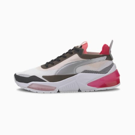 Zapatos de entrenamiento LQDCELL Optic XI para mujer, Puma White-Pma Blk-Rosewater, pequeño