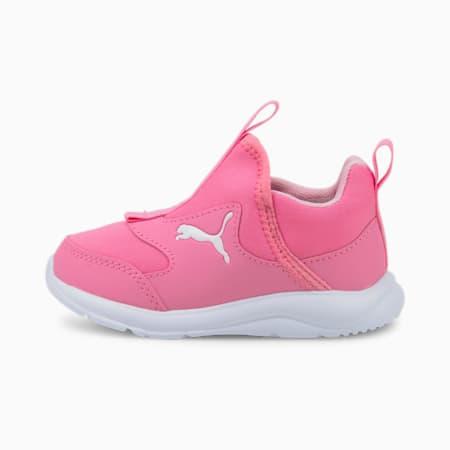 Fun Racer Slip-On Babies' Shoes, Sachet Pink-Puma White, small-SEA