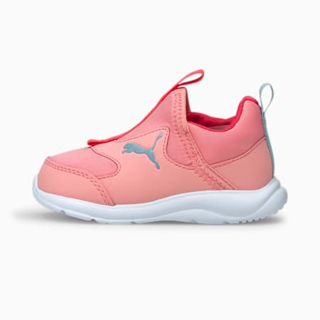 Fun Racer Slip-On Babies' Shoes, Peony-Blue Fog, small-SEA