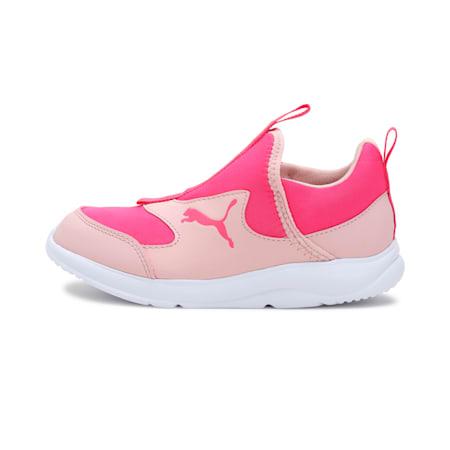 PUMA Fun Racer Slip-On Kids' Shoes, Peachskin-Glowing Pink, small-IND