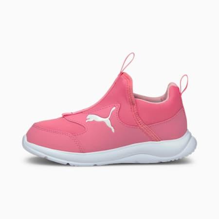 Fun Racer Slip-On Kids' Shoes, Sachet Pink-Puma White, small-SEA