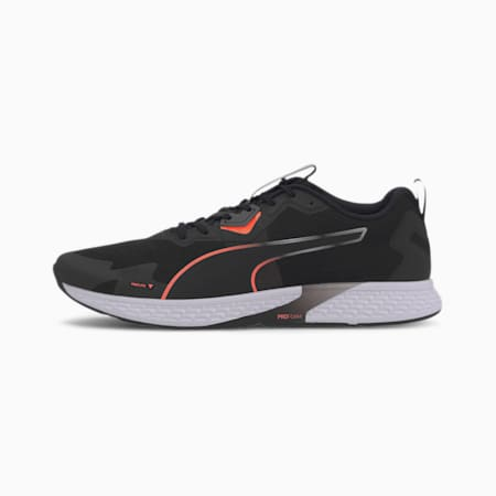 SPEED 500 2 Men's Running Shoes, Puma Black-Nrgy Peach, small