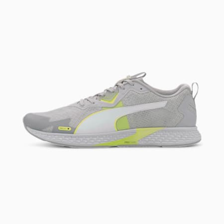 SPEED 500 2 Men's Running Shoes, Gray Violet-Fizzy Yellow, small