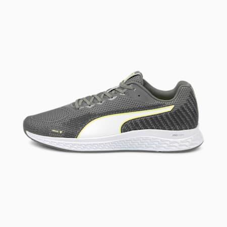 SPEED Sutamina 2 Men's Running Shoes, CASTLEROCK-Yellow Alert, small