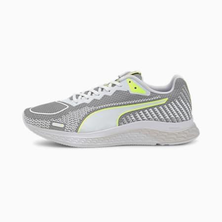 Damskie buty do biegania SPEED Sutamina 2, Gray Violet-Puma White-Fizzy Yellow, small