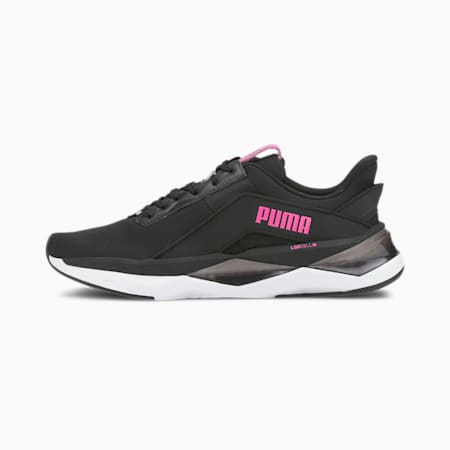 LQDCELL シャッター XT ゲオ ウィメンズ トレーニング シューズ, Puma Black-Luminous Pink, small-JPN