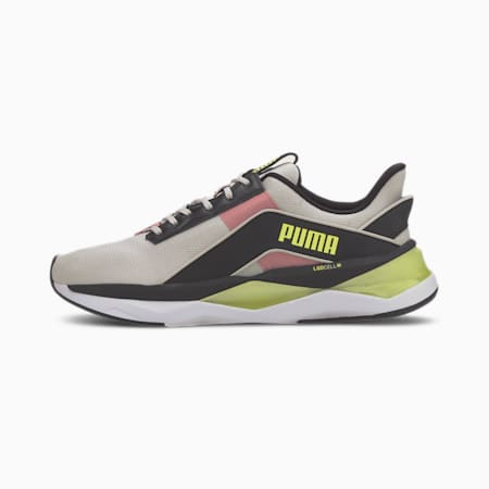 LQDCELL Shatter XT Geo Women's Training Shoes, Gray Violet-Puma Black-Fizzy, small