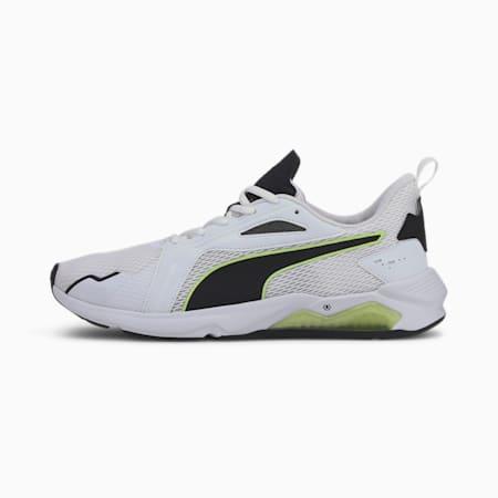 Męskie buty treningowe LQDCELL Method, Puma White-Puma Black-Fizzy, small