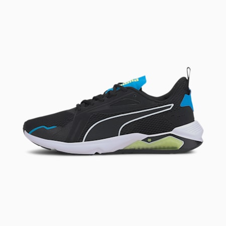 LQDCELL Method Men's Training Shoes, Puma Black-Nrgy Blue-Fizzy, small-IND