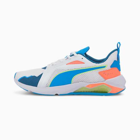 LQDCELL Method Men's Training Shoes, Puma White-Nrgy Blue-Nrgy, small