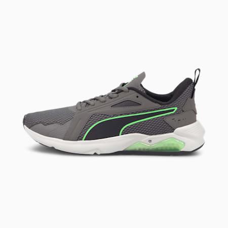 Zapatos de entrenamiento LQDCELL Methodpara hombre, CASTLEROCK-Negro-Verd, pequeño