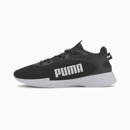 Jaro Fresh Men's Running Shoes, Puma Black-Puma White, small-IND