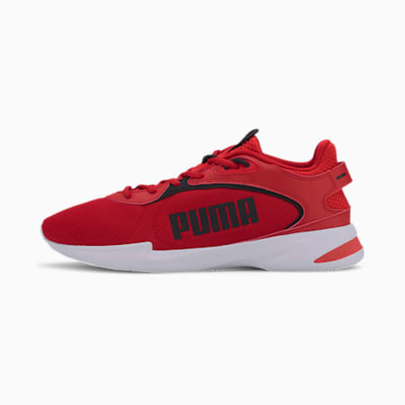Jaro Fresh Men's Running Shoes, High Risk Red-Puma Black, small-IND