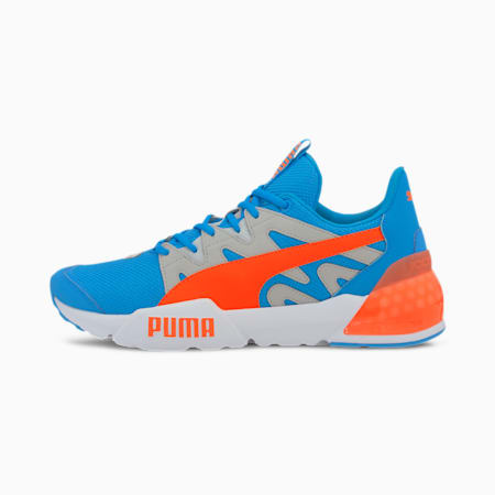 CELL Pharos Neon Men's Training Shoes, Nrgy Blue-Gray Violet-Orange, small