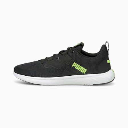 Softride Vital Men's Running Shoes, Puma Black-Green Glare, small-IND