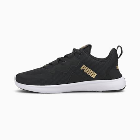 SOFTRIDE Vital Women's Running Shoes, Puma Black-Puma Team Gold, small-IND