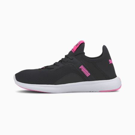SOFTRIDE Vital Femme Women's Running Shoes, Puma Black-Luminous Pink, small-IND
