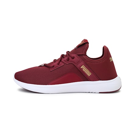 SOFTRIDE Vital Femme Women's Running Shoes, Burgundy-Puma Team Gold, small-IND