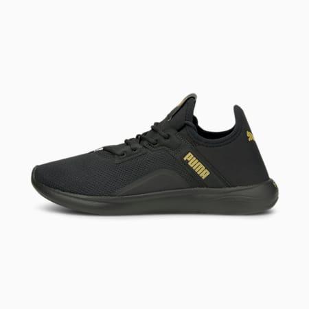 Zapatos deportivos para correr SOFTRIDE Vital Femme para mujer, Puma Black-Puma Team Gold, pequeño