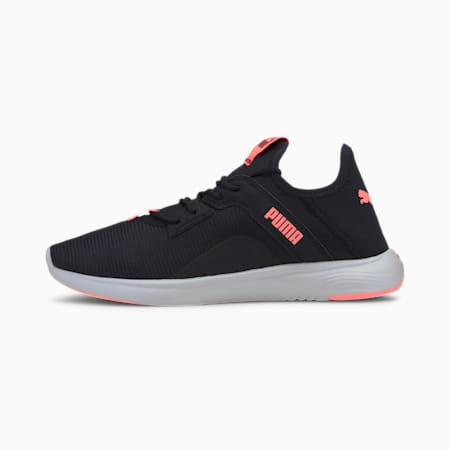 SOFTRIDE Vital Femme Shimr Women's Running Shoes, Puma Black-Nrgy Peach, small-IND