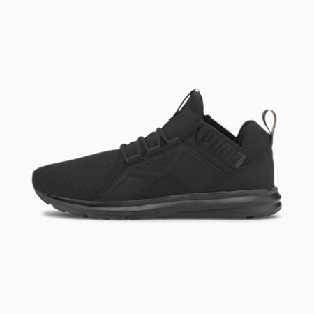 Enzo Edge Mesh Men's Running Shoes, Puma Black, small