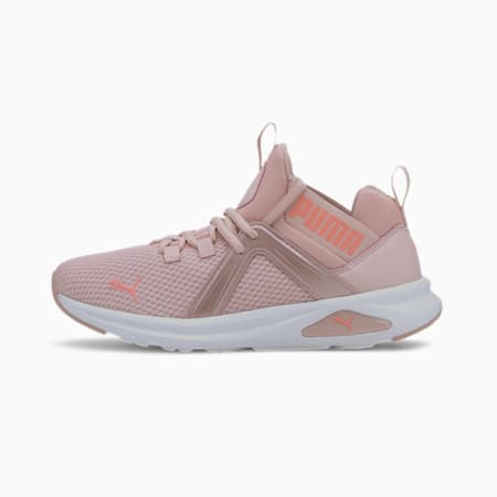 Enzo 2 Shimmer Women's Running Shoes, Peachskin-Nrgy Peach, small-IND